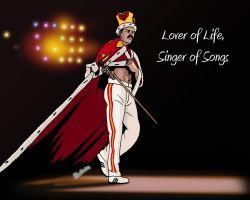 Lover of Life, Singer of Songs by deanfenechanimations