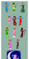Avatar Girls Collection by jerseygrl246