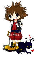 Chibi Sora by AkinaSumizome