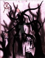 Jeff and SlenderMan *edited* by dragonholder411