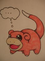 slowpoke is slow... by chikadee34