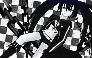 Black Rock Shooter by OKAMISAN70
