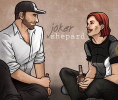 Mass Effect - a couple of beers by aliceazzo