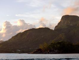 Seychelles Life: Sunset 1 by v-collins
