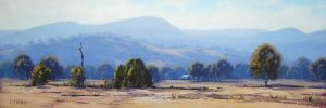 Tumut Valley Landscape by artsaus