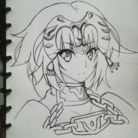 jeanne d'arc by riyanand