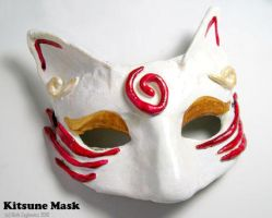 Kitsune Mask by SpaceTurtleStudios