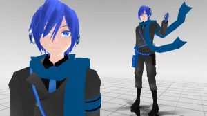 Love is war Kaito MMD download by Reon046