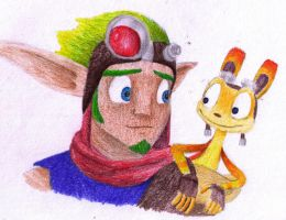 Jak 3 and Daxter by ZoraSteam