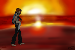 .:Sunset:. by popolis
