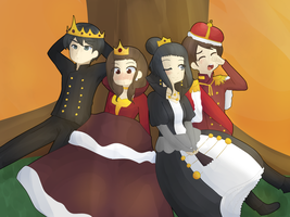 The Kings and Queens by pferty