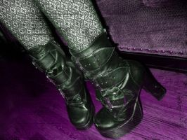 boots are made for walkin by RavenA938