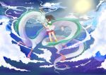Spirited away: together in night sky by Mashiro-chi