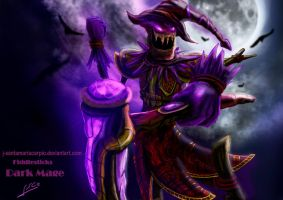 Fiddlesticks Dark Mage Skin by J-SantamariaCarpio