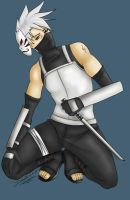 Free Commish - Anbu Kakashi by Demonic-Demona