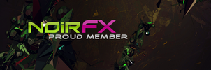 NoirFX Proud Member Tag by 3DBlenderRender