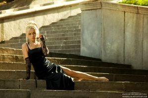 On the stairs by IrisErelar