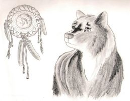 native wolf by pariahpoet