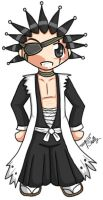 chibi - bleach - kenpachi by percylove