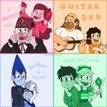 Family and Friends by BlueOrca2000