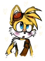 Tails Sonic Boom by XColorBlissSketchX