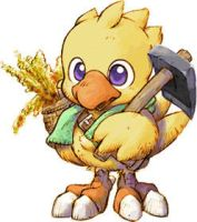 Chocobo by Cloud-Strife-FF-VII