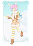 CT : Snow Bun by Lunthens