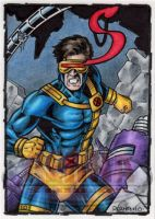 Cyclops Sketch Card by tonyperna