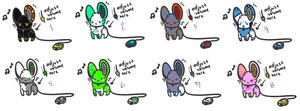 Portable Speaker Mouse Adoptables (CLOSED) by WindyAdopts