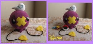 Orchid Floon Plush by Fox7XD