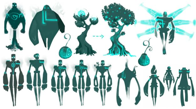 Golem Designs by Rhinne