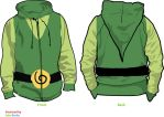 Link Wind Waker Hoodie by Weeaboo-Warehouse