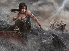 Cechusle Tomb Raider contest by cechusle