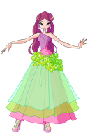 Roxy Flower Princess by Forgotten-By-Gods