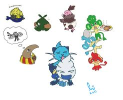 Pokemonomnom 5th Gen by lurils