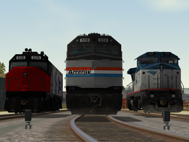 The best of Amtrak by BNSF