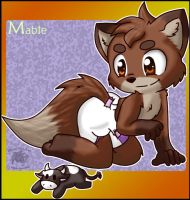 Mable -Gift Art- by BabyChrisFox
