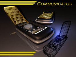Star Trek Communicator by Puckducker