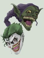 Joker and the Goblin by g45uk2