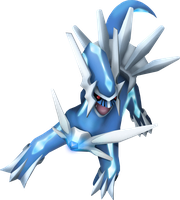 3D Dialga Art with Photoshop by Keh-ven