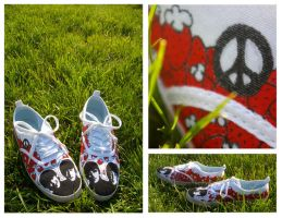 Beatles shoes by Plastic-pearl