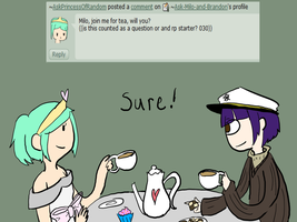 Question : tea time! by Ask-Milo-and-Brandon