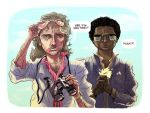 MIAMI VICE with LOGAN by BrandNewNostalgia