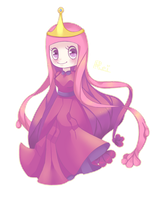 Princess Bubblegum by BubblyBlu