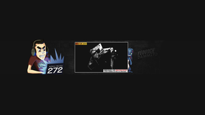 YouTube channel art 2014 by CreateMyIntro