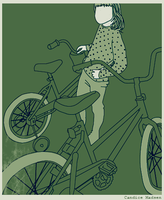 .bicycle by Lilluart