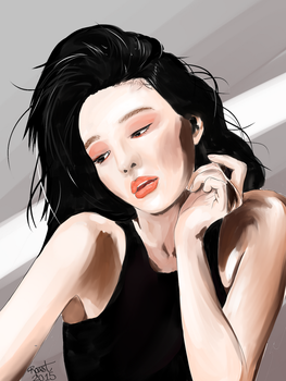 Painted from reference by sanderness