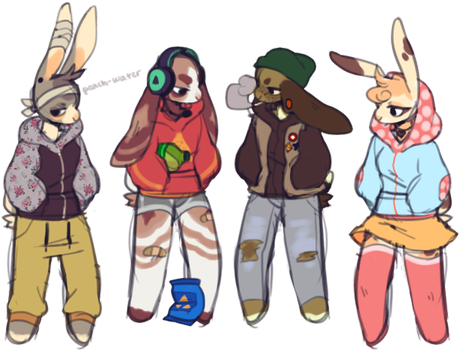 bun adopts : closed by peach-water