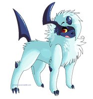 Absol by SpunkyRacoon