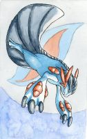 Swampert: Mega Evolution by Kaliaen